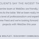 WebDevStudios Discovery Communications Testimonial