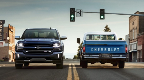 100 YEARS OF CHEVY Agency 720