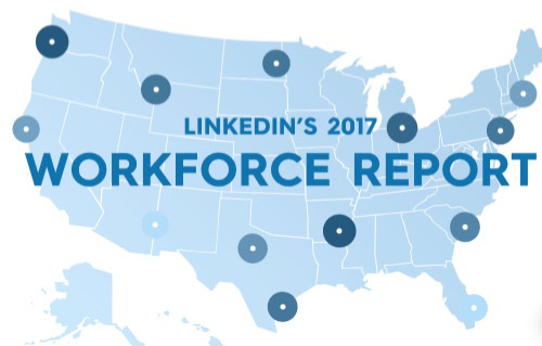 LinkedIn workforce report, Column Five Media