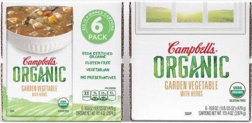 Campbells Organic Soup | Works Design Group