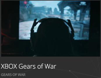 Wild Gravity Xbox Gears of War