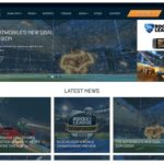 Rocket League Website Redesign