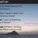 Travel Marketing Blueliner