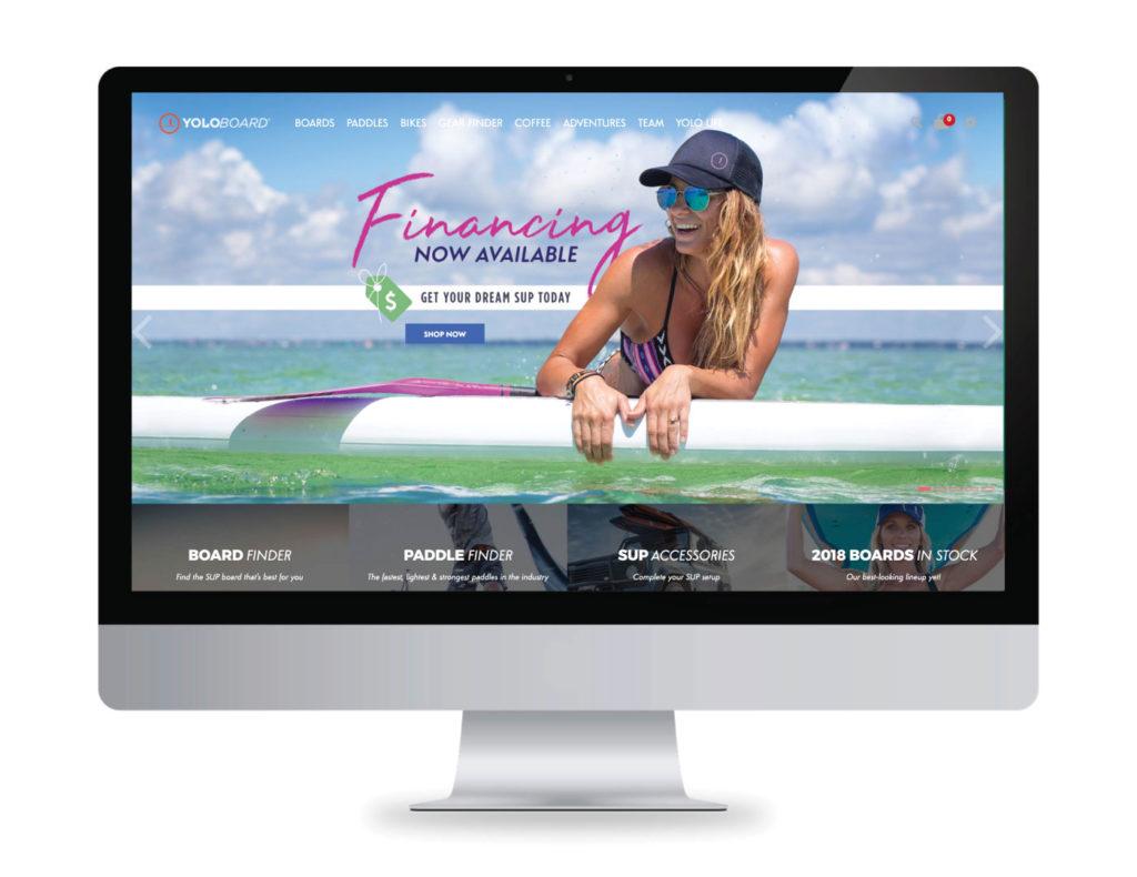 Yolo Board Website Creative