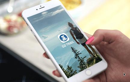 Go Trail App Design