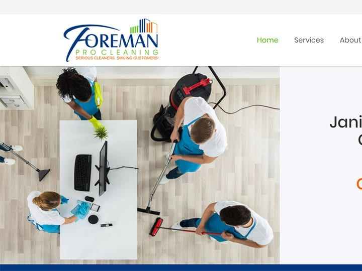 Foreman website project